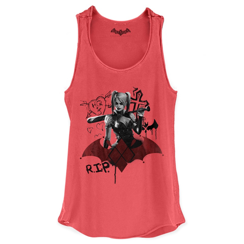 Regata Premium Feminina Harley Quinn RIP  - bandUP Store Marketplace