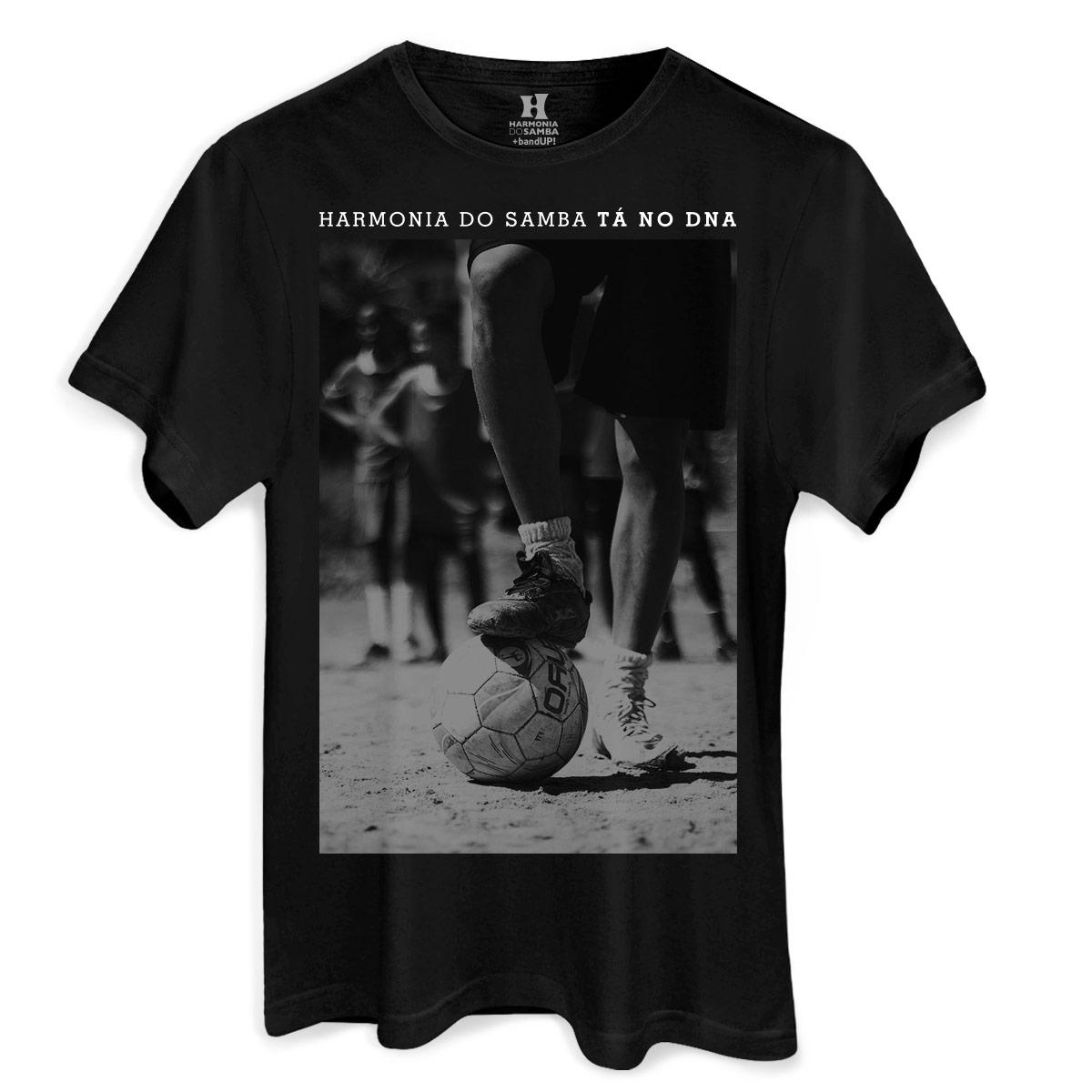 Camiseta Masculina Harmonia do Samba Tá no DNA Futebol  - bandUP Store Marketplace