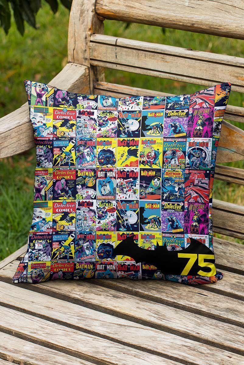Almofada Batman 75 Anos HQ  - bandUP Store Marketplace