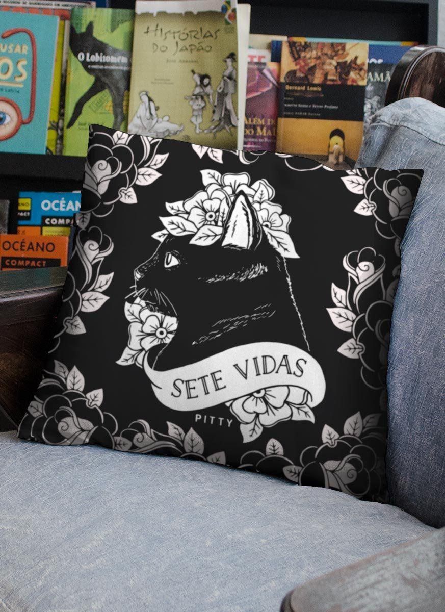 Almofada Pitty Sete Vidas  - bandUP Store Marketplace