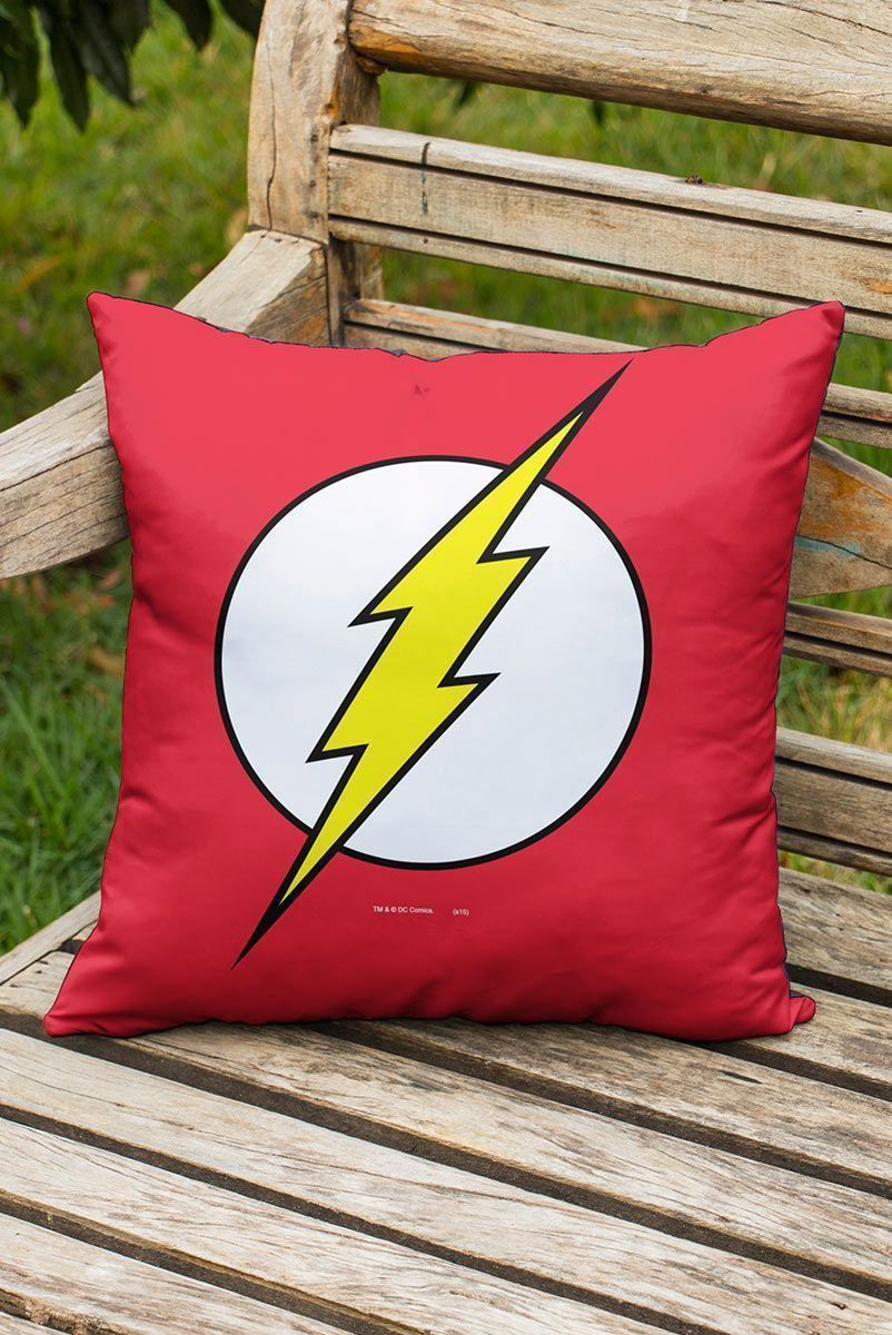 Almofada The Flash Logo  - bandUP Store Marketplace