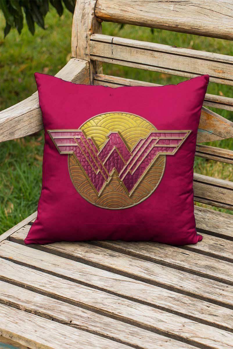 Almofada Wonder Woman Logo Authentic  - bandUP Store Marketplace