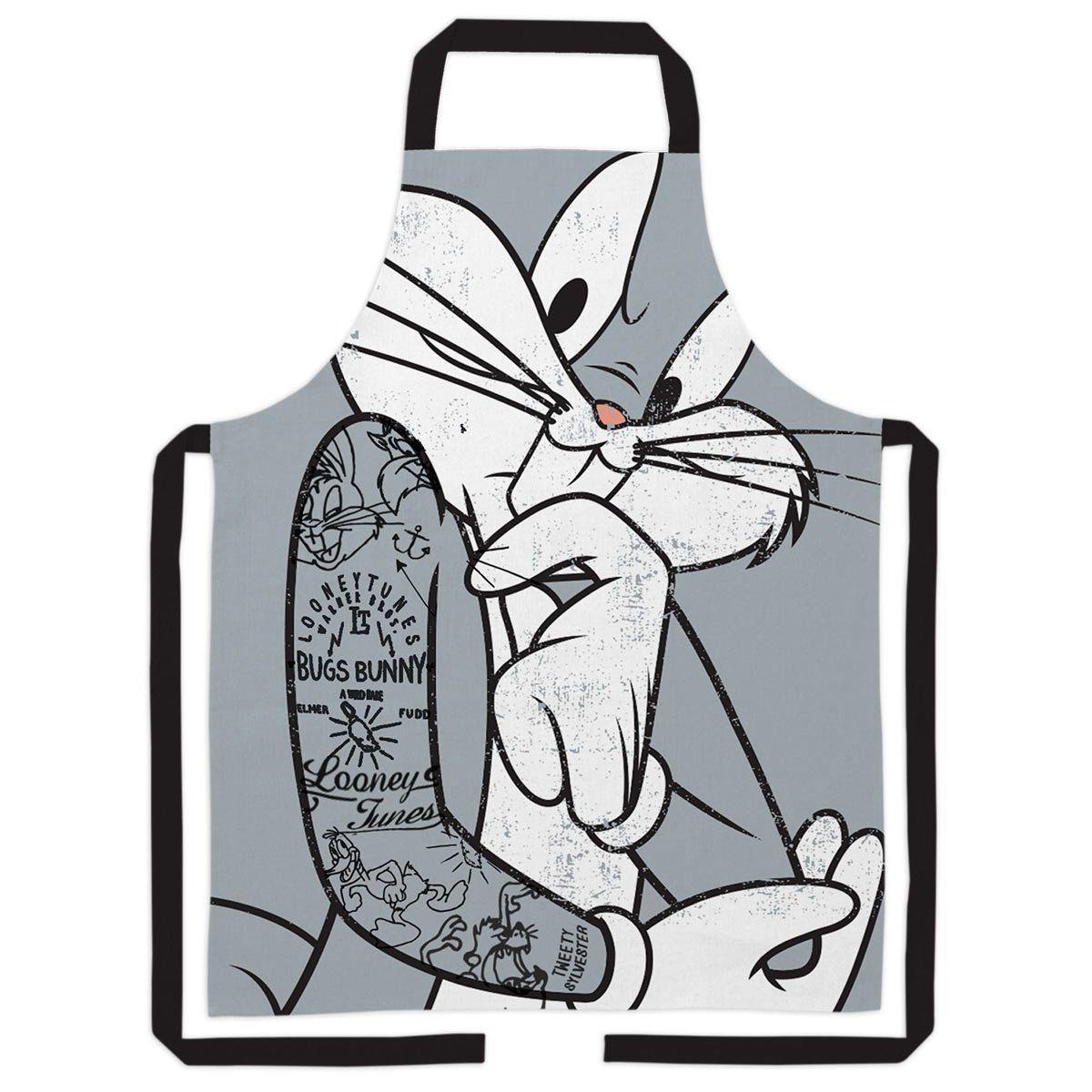 Avental Looney Tunes Pernalonga Tattooed Oficial  - bandUP Store Marketplace
