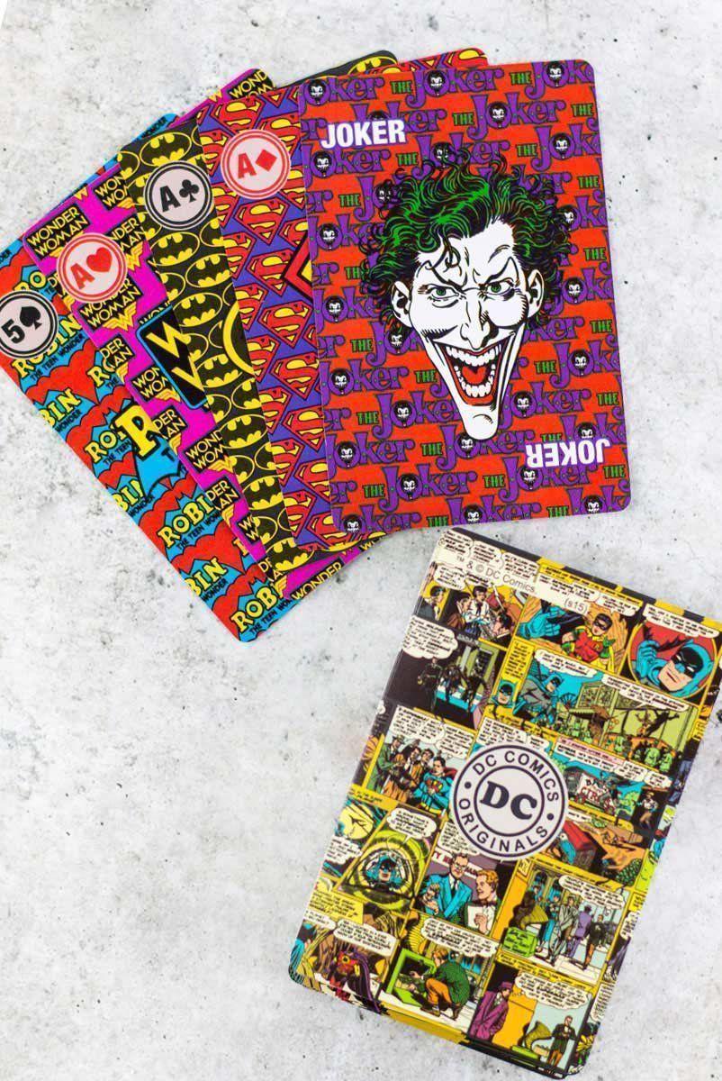 Baralho DC Comics Logos  - bandUP Store Marketplace