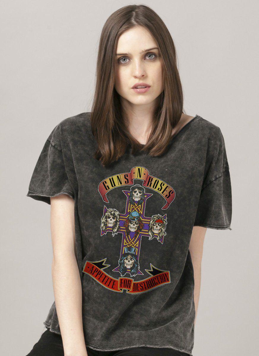 Blusa Feminina Guns N