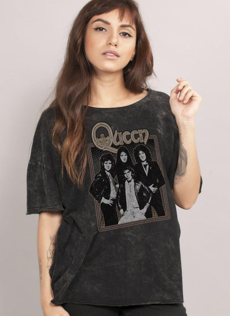 Blusa Feminina Queen Portrait  - bandUP Store Marketplace