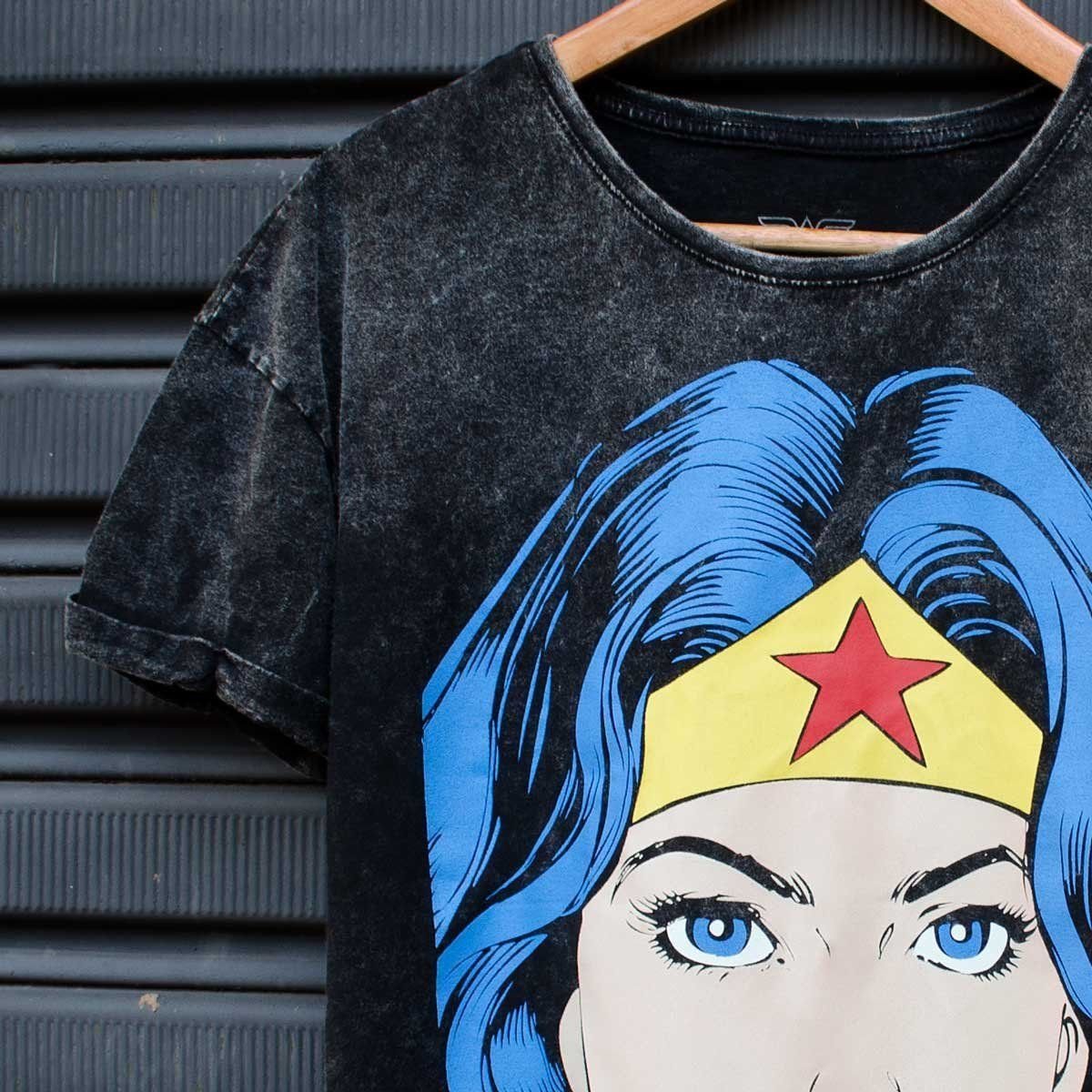 Blusa Feminina Wonder Woman Pop Culture Oficial  - bandUP Store Marketplace