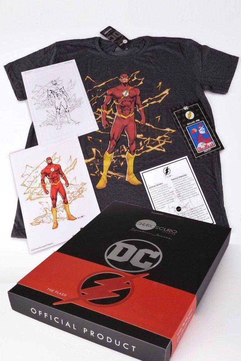 Box Chiaroscuro Signature Series - The Flash Oficial  - bandUP Store Marketplace