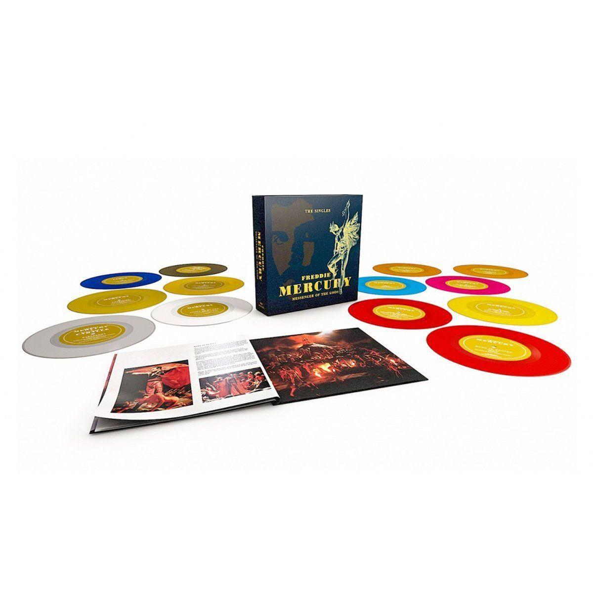 "Box Set 7"" Freddie Mercury Messenger of The Gods Oficial  - bandUP Store Marketplace"