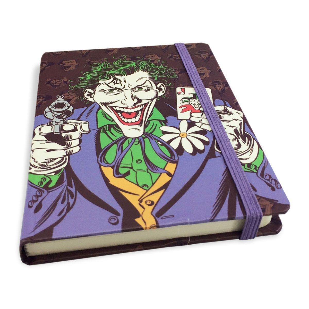 Caderneta de Anotações Coringa Baralho  - bandUP Store Marketplace