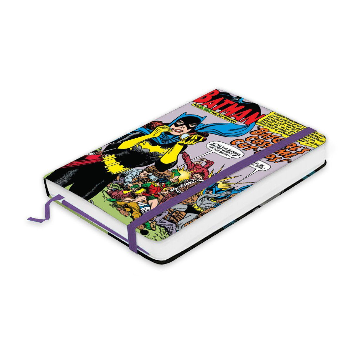 Caderneta de Anotações DC Comics Batgirl´s Costume  - bandUP Store Marketplace