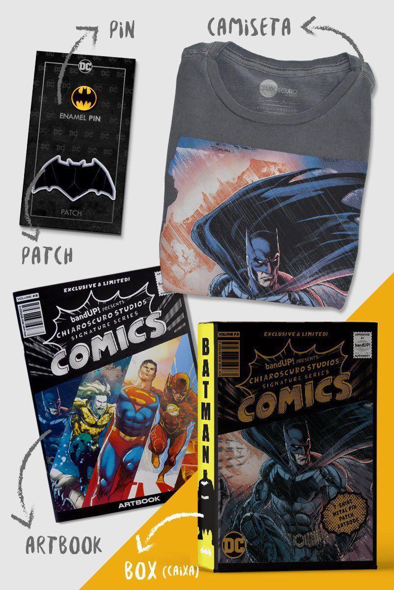 Caixa Box Batman Chiaroscuro  - bandUP Store Marketplace