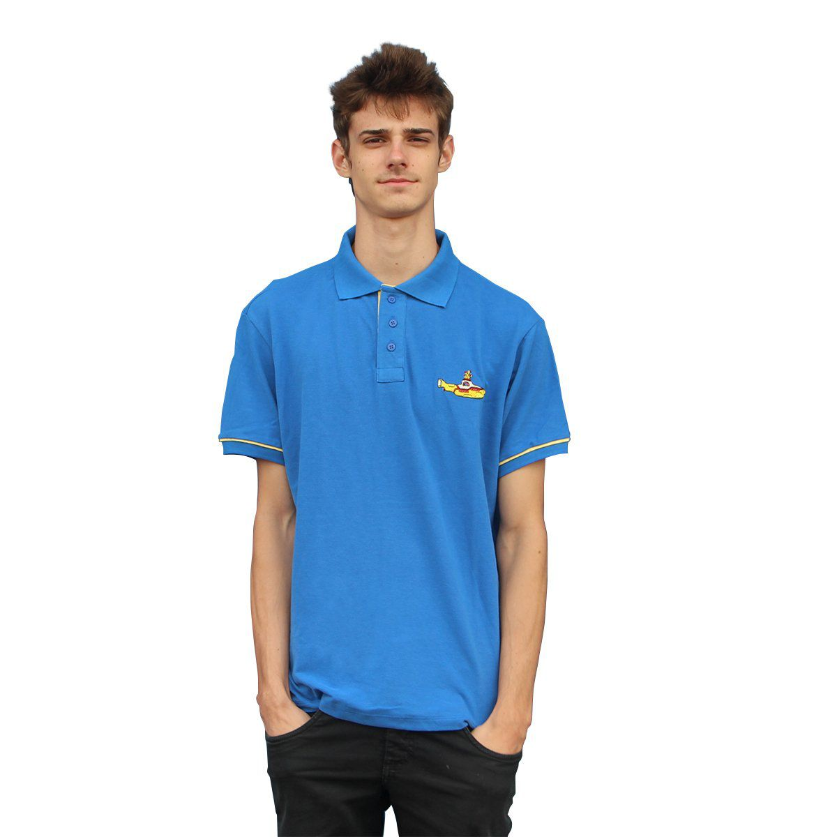 Camisa Polo The Beatles Yellow Submarine  - bandUP Store Marketplace