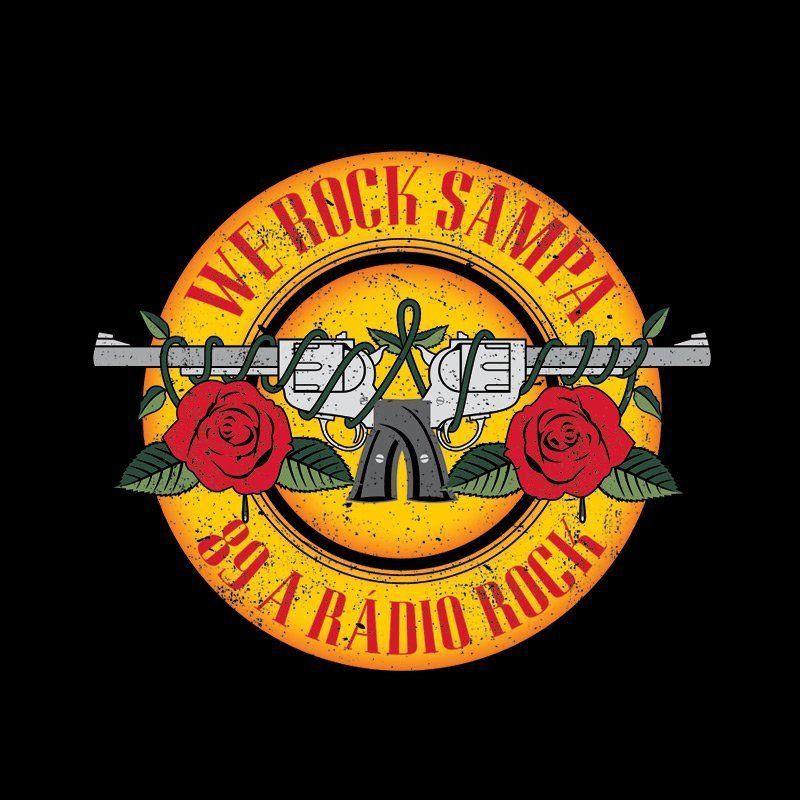 Camiseta Feminina 89 FM A Rádio Rock Firearms Oficial  - bandUP Store Marketplace