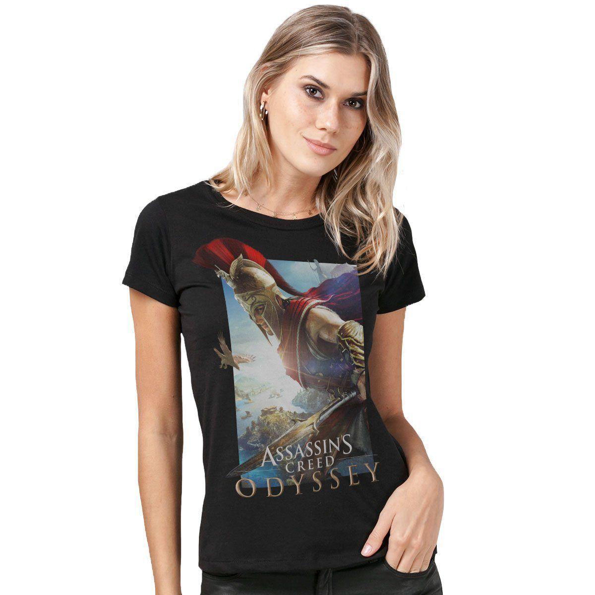 Camiseta Feminina Assassin