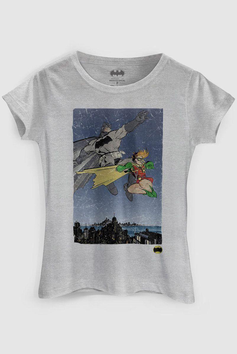 Camiseta Feminina Batman e Robin  - bandUP Store Marketplace