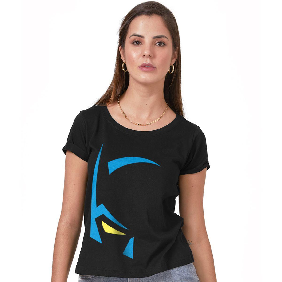 Camiseta Feminina Batman Mask  - bandUP Store Marketplace