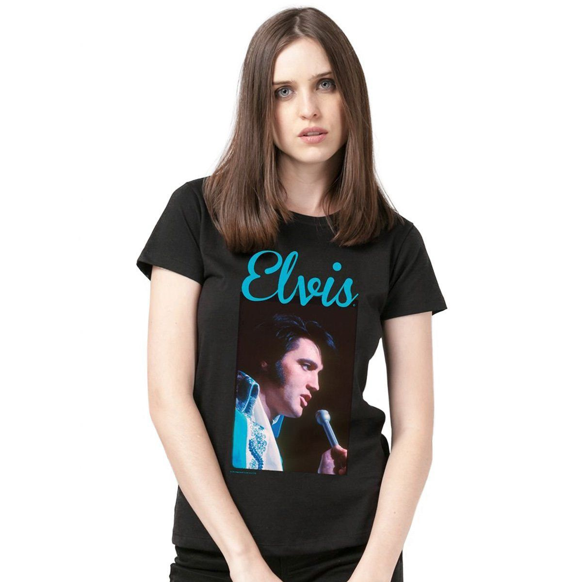 Camiseta Feminina Elvis Presley 70s Songs  - bandUP Store Marketplace