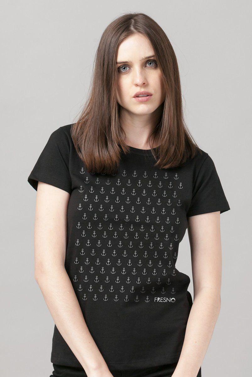 Camiseta Feminina Fresno Âncoras  - bandUP Store Marketplace