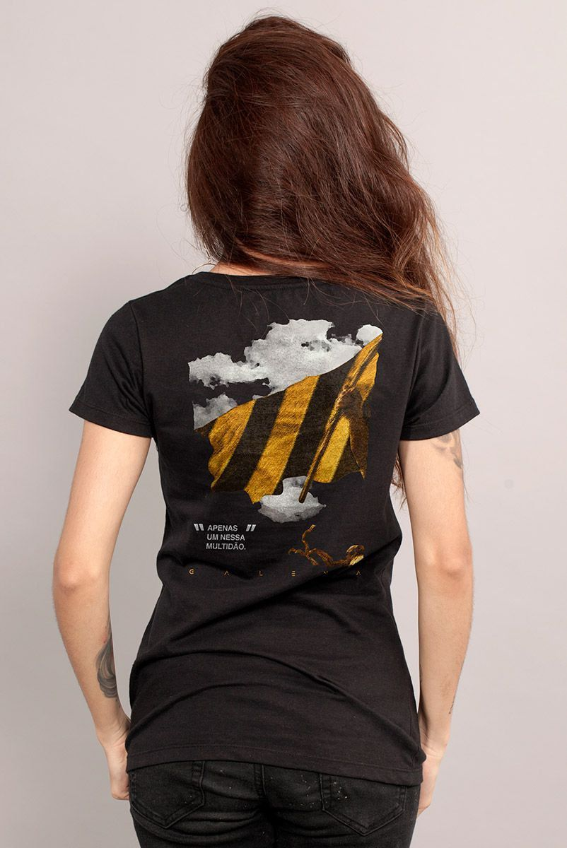 Camiseta Feminina Fresno Apenas Um  - bandUP Store Marketplace
