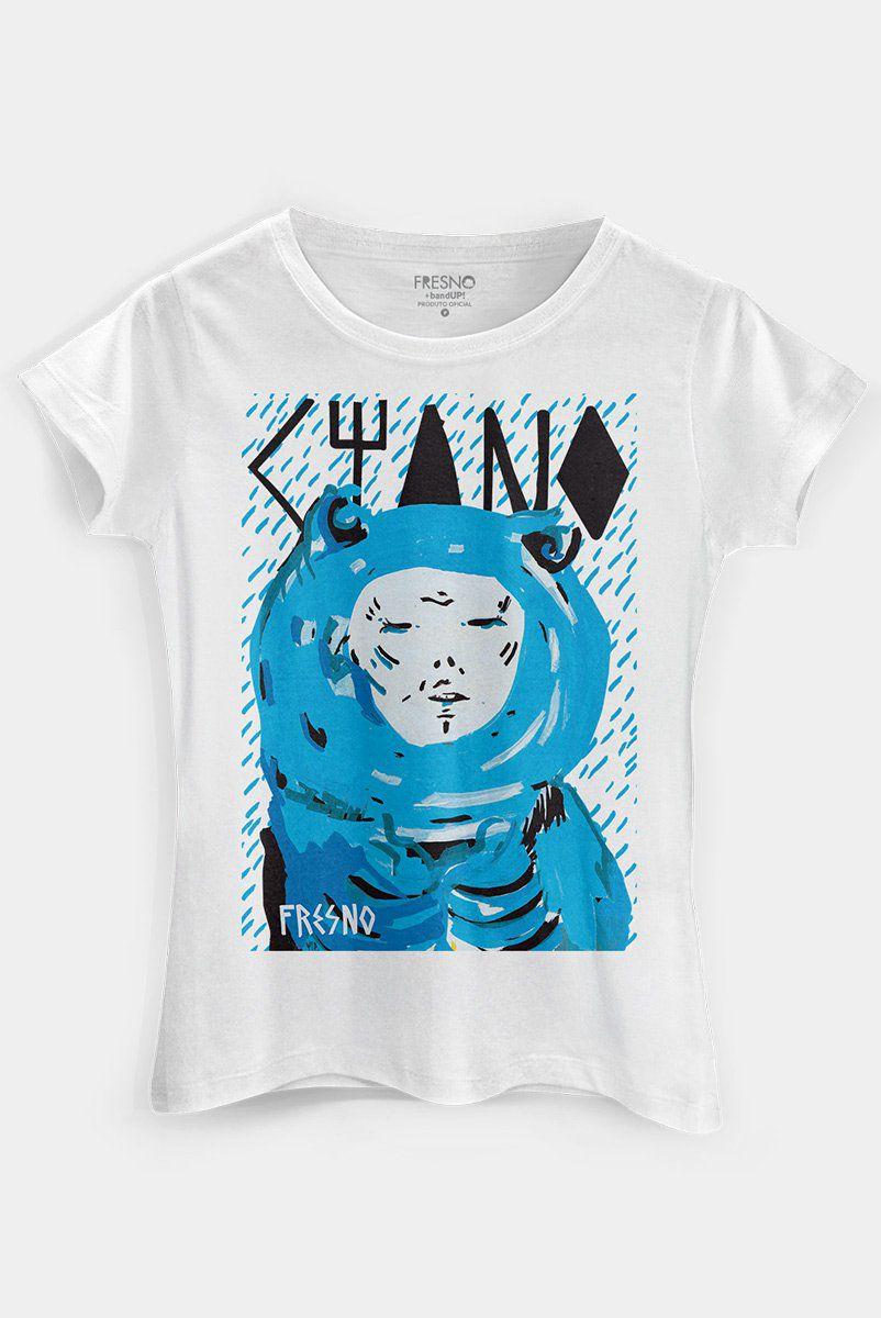 Camiseta Feminina Fresno Ciano  - bandUP Store Marketplace