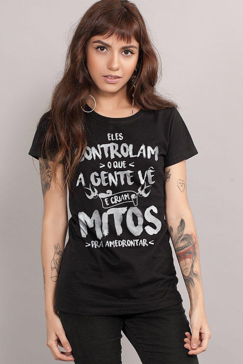 Camiseta Feminina Fresno Mitos  - bandUP Store Marketplace
