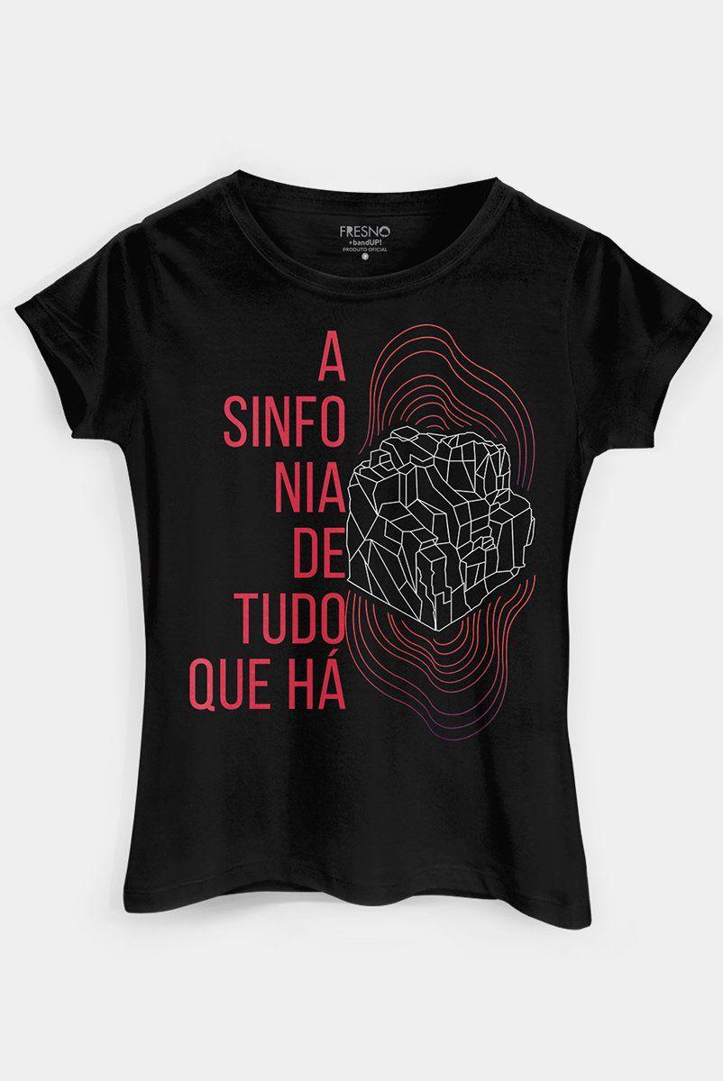 Camiseta Feminina Fresno Vibrações  - bandUP Store Marketplace