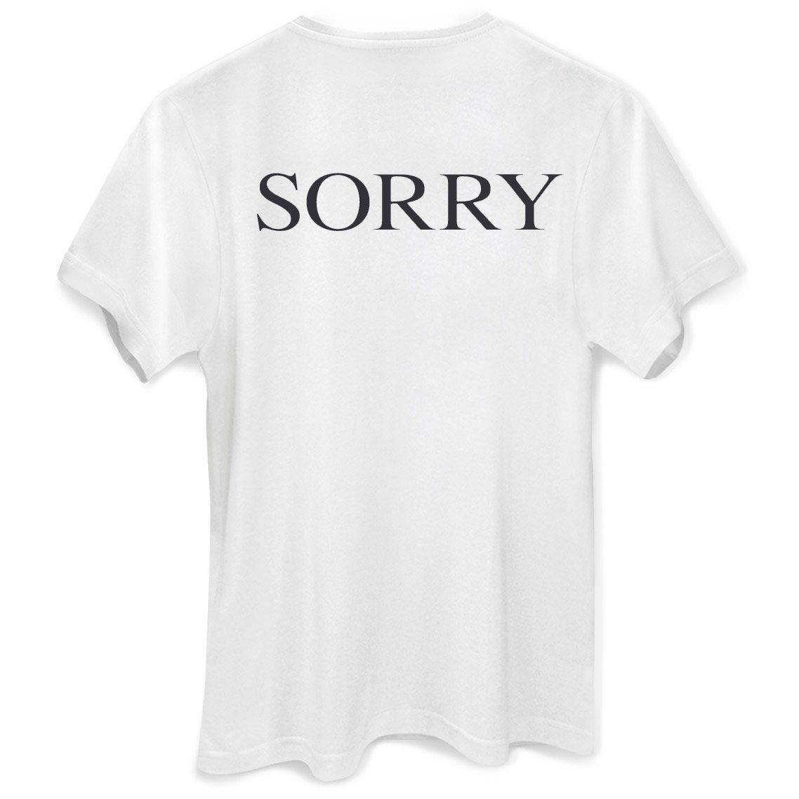 Camiseta Feminina Justin Bieber Sorry Oficial  - bandUP Store Marketplace