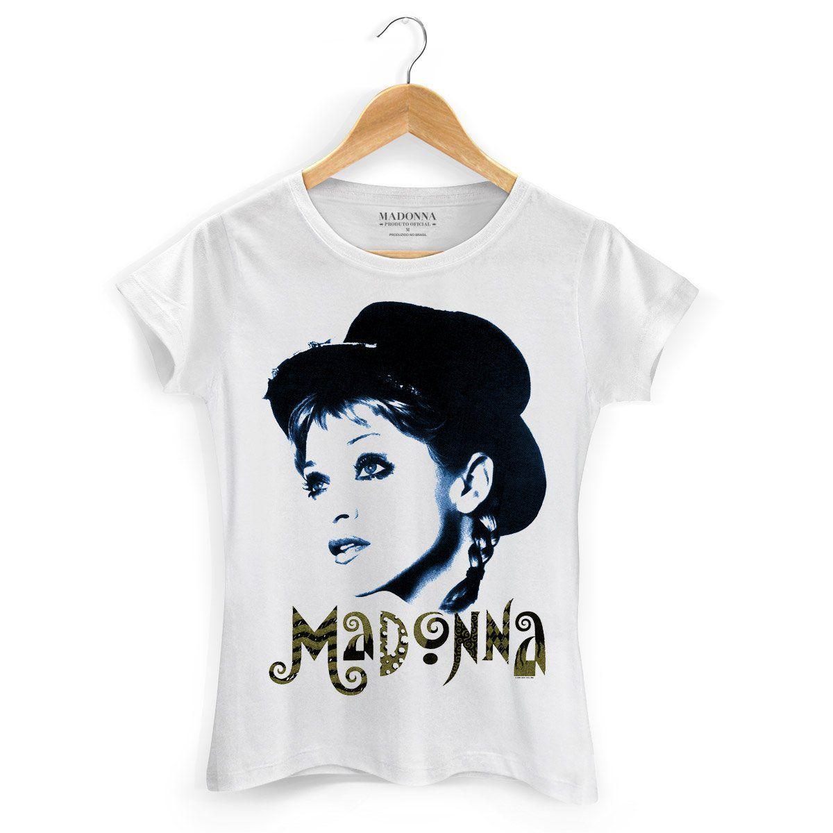 Camiseta Feminina Madonna Looker  - bandUP Store Marketplace