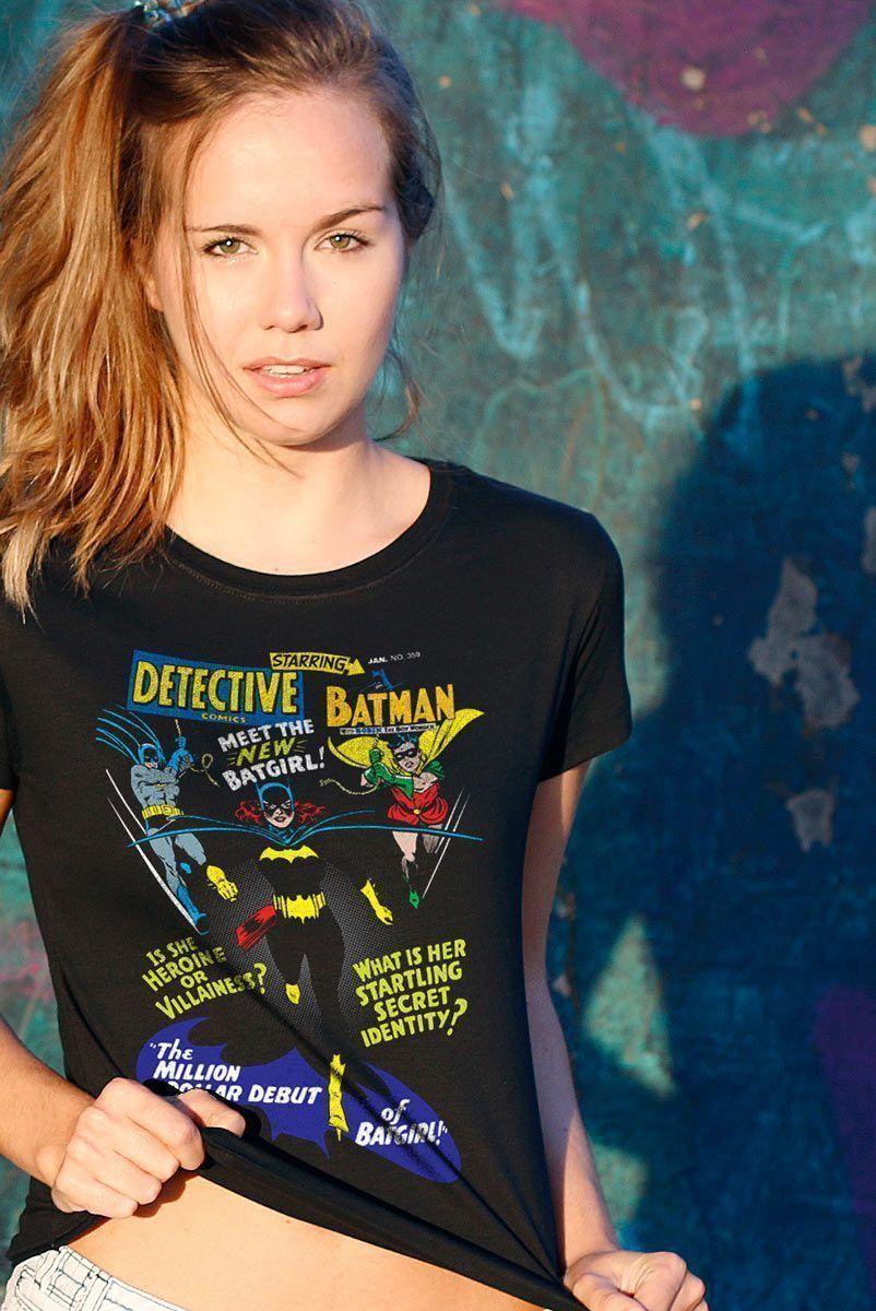 Camiseta Feminina Meet The New Batgirl  - bandUP Store Marketplace