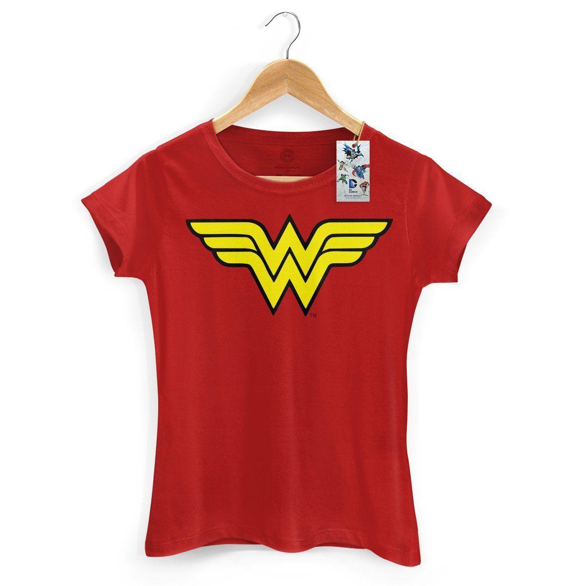 Camiseta Feminina Power Girls Wonder Woman  - bandUP Store Marketplace