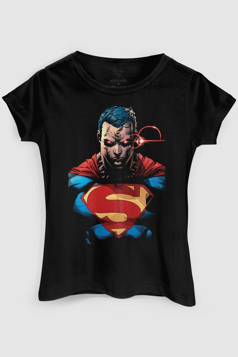 Camiseta Feminina Superman X-Ray Vision Colors  - bandUP Store Marketplace