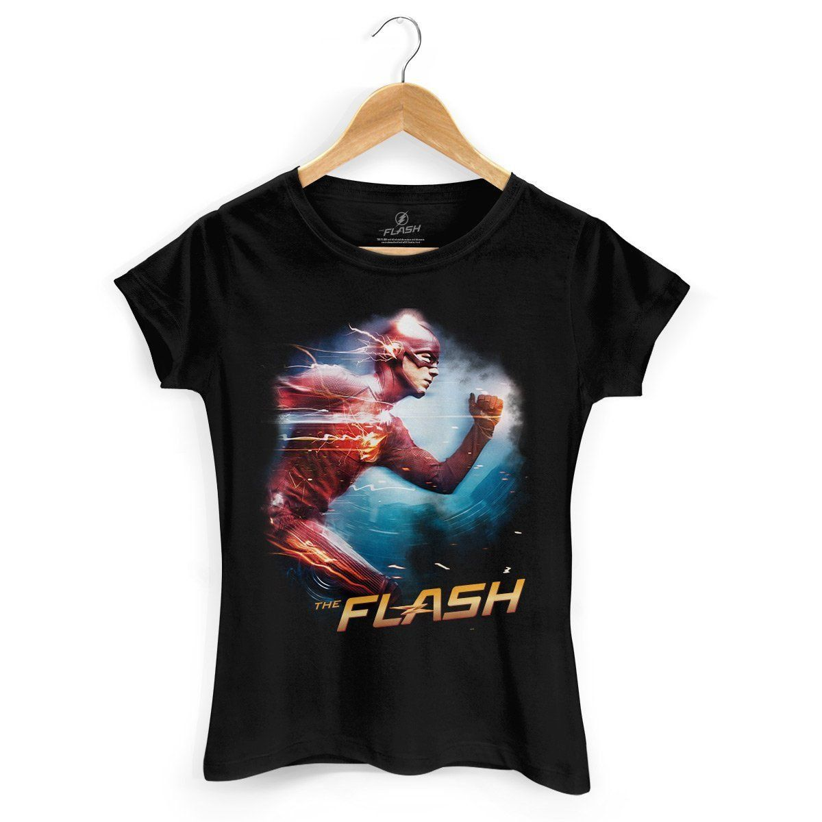 Camiseta Feminina The Flash Serie Running  - bandUP Store Marketplace