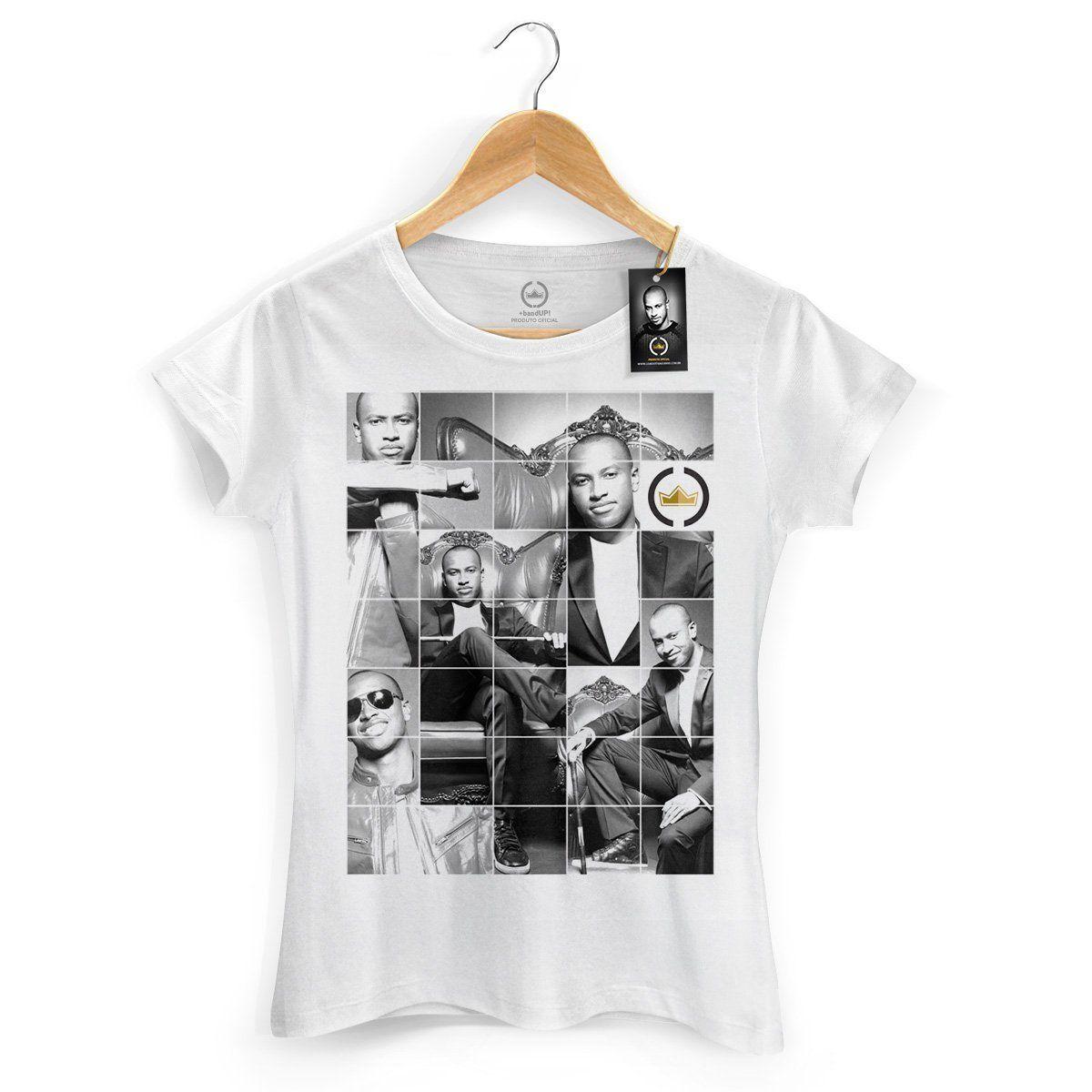 Camiseta Feminina Thiaguinho Capa Oficial  - bandUP Store Marketplace