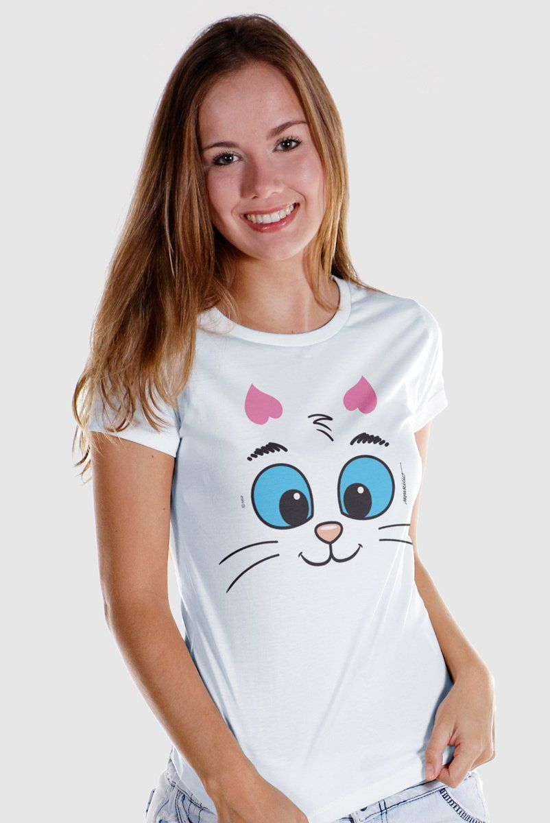 Camiseta Feminina Turma da Mônica Kids Olhões Mingau  - bandUP Store Marketplace