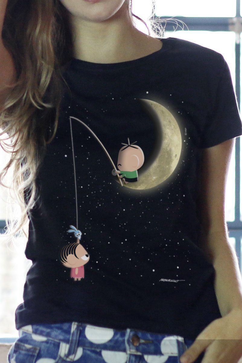 Camiseta Feminina Turma da Mônica Toy Lua  - bandUP Store Marketplace