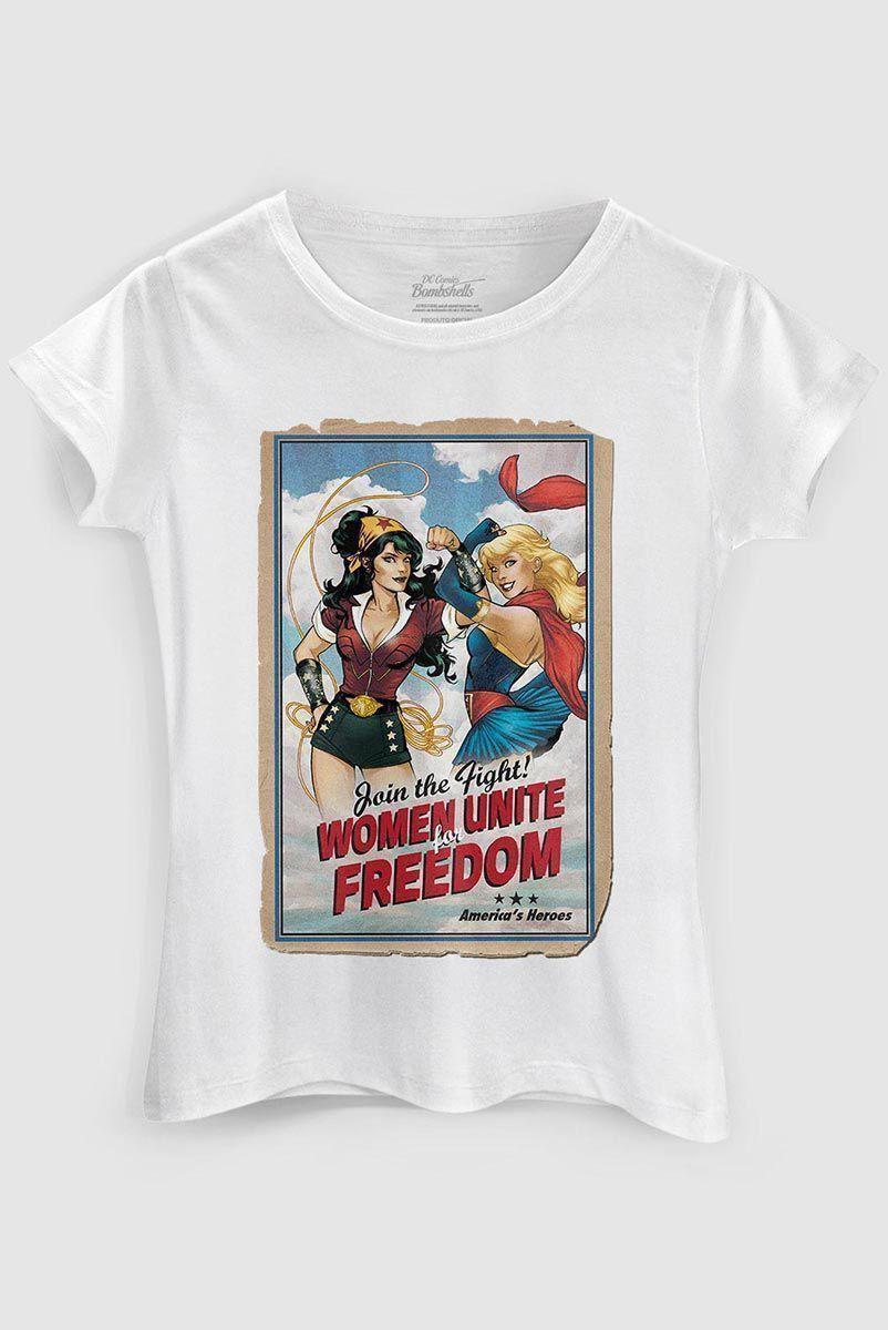 Camiseta Feminina Women Unite for Freedom  - bandUP Store Marketplace