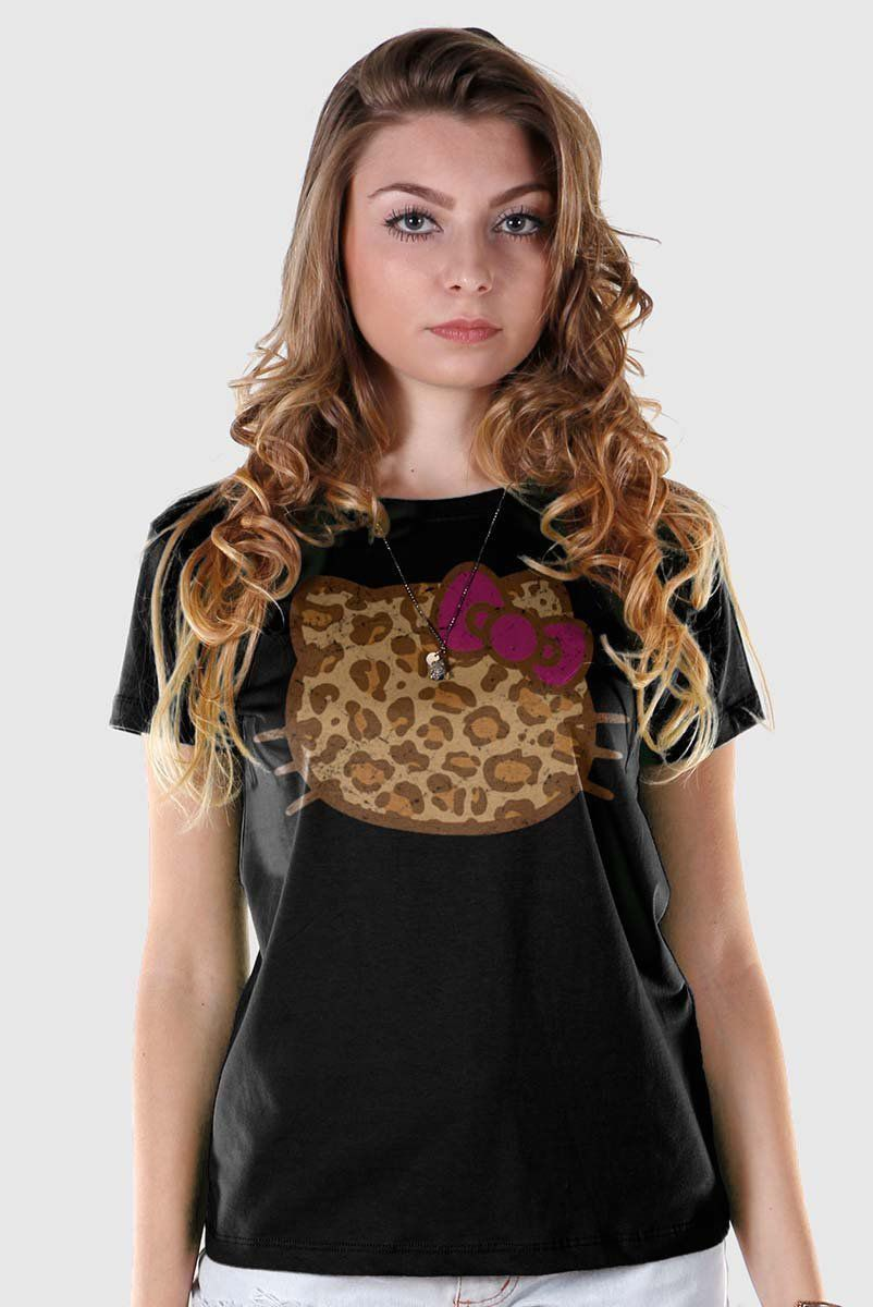 Camiseta Hello Kitty Print Fuzzy  - bandUP Store Marketplace