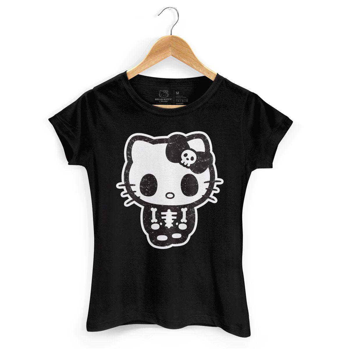 Camiseta Hello Kitty Skull  - bandUP Store Marketplace