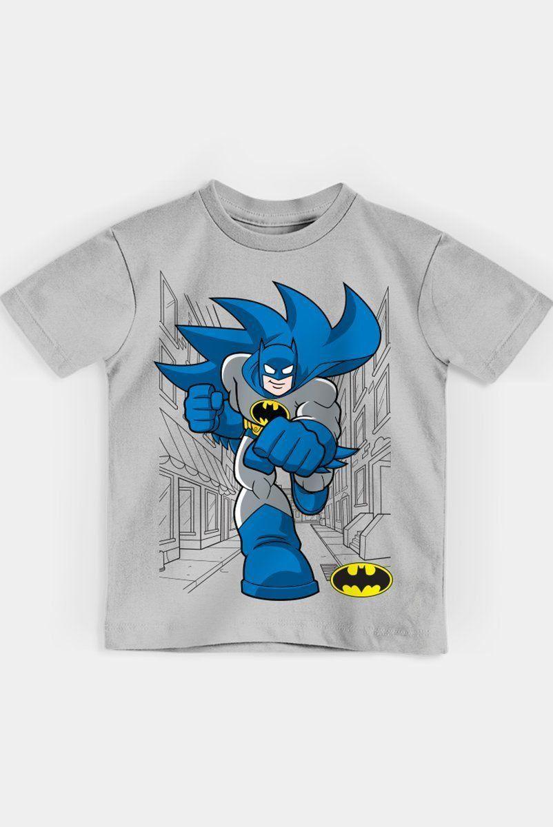 Camiseta Infantil Batman Em Ação Oficial  - bandUP Store Marketplace