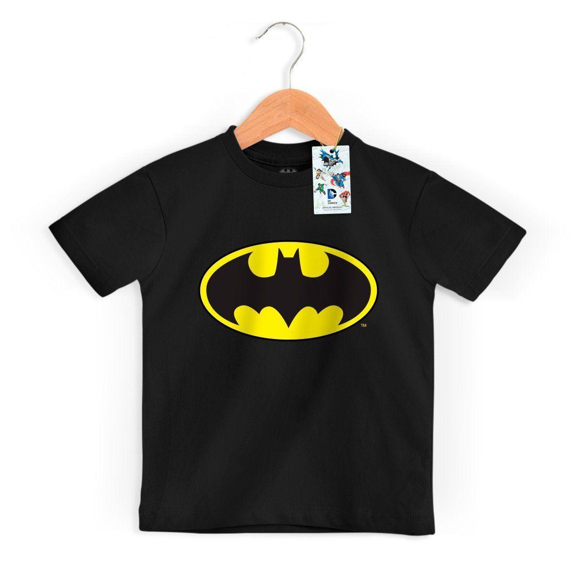 Camiseta Infantil Batman Logo Clássico Oficial  - bandUP Store Marketplace