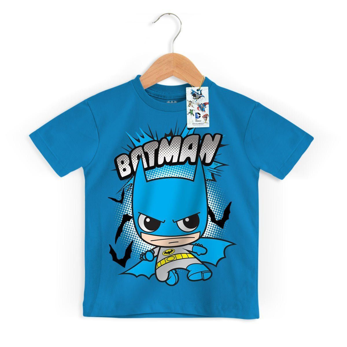 Camiseta Infantil DC Comics Batman Kid Oficial  - bandUP Store Marketplace