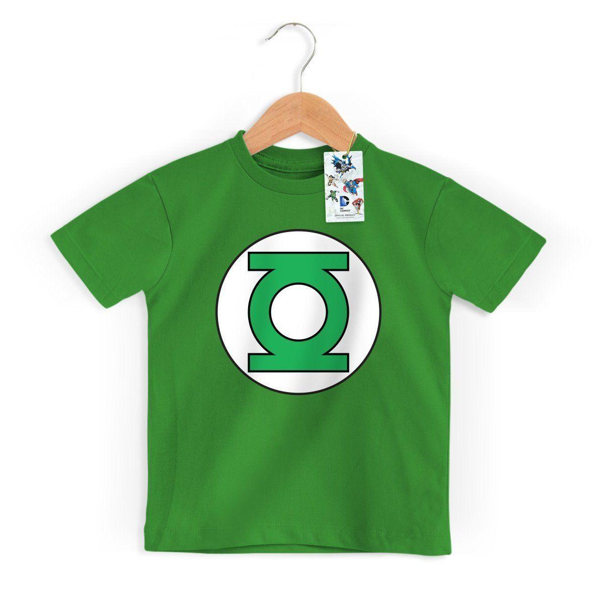 Camiseta Infantil Lanterna Verde Logo Oficial  - bandUP Store Marketplace