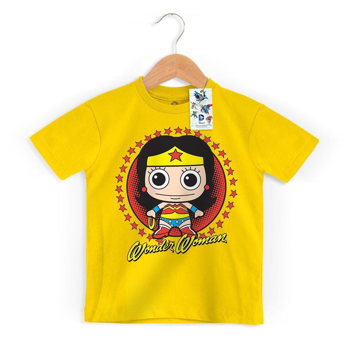 Camiseta Infantil Mulher Maravilha Kid Oficial  - bandUP Store Marketplace
