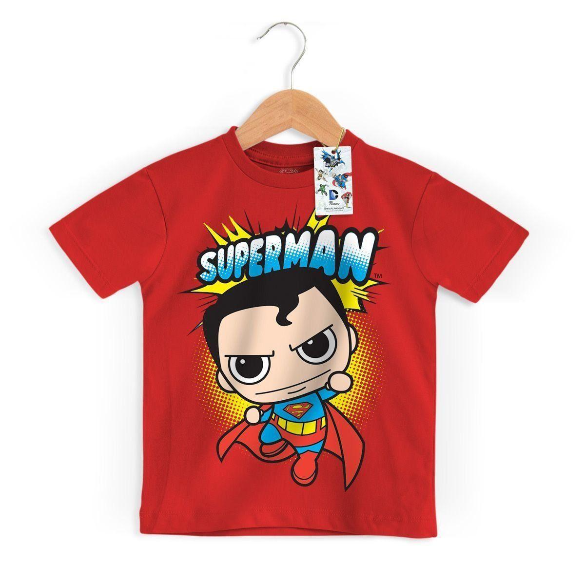 Camiseta Infantil Superman Kid Oficial  - bandUP Store Marketplace