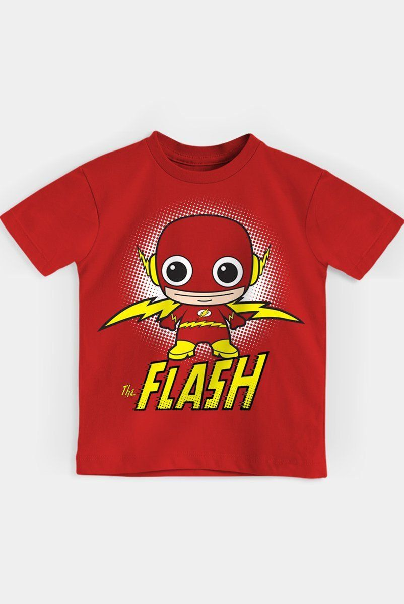 Camiseta Infantil The Flash Kid Oficial  - bandUP Store Marketplace