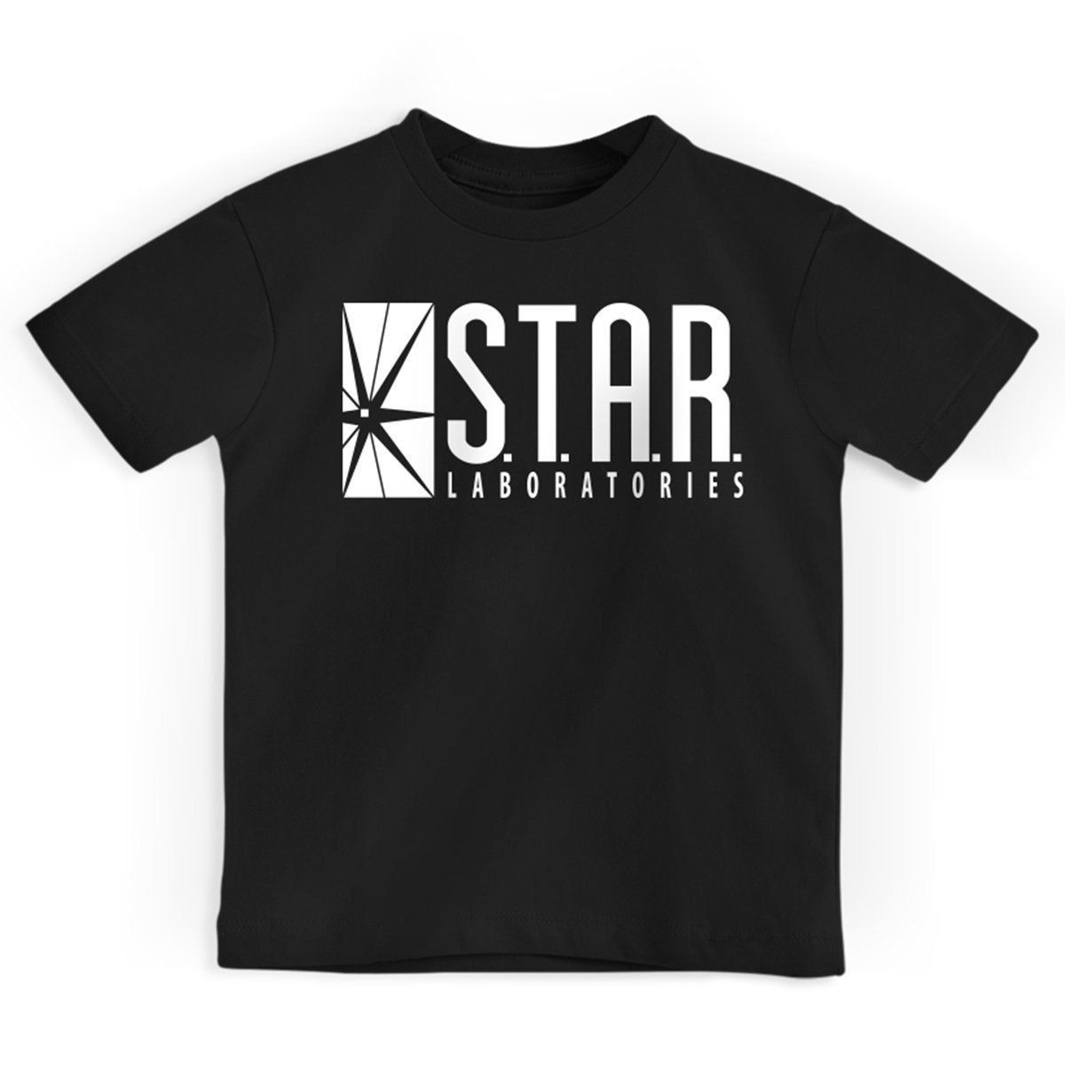 Camiseta Infantil The Flash Serie STAR Laboratories Oficial  - bandUP Store Marketplace