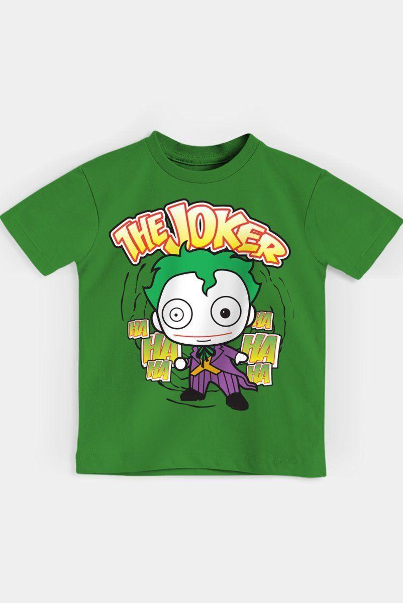 Camiseta Infantil The Joker Oficial  - bandUP Store Marketplace