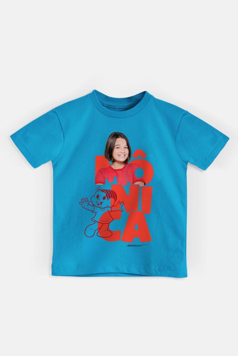 Camiseta Infantil Turma da Mônica Laços Mônica  - bandUP Store Marketplace