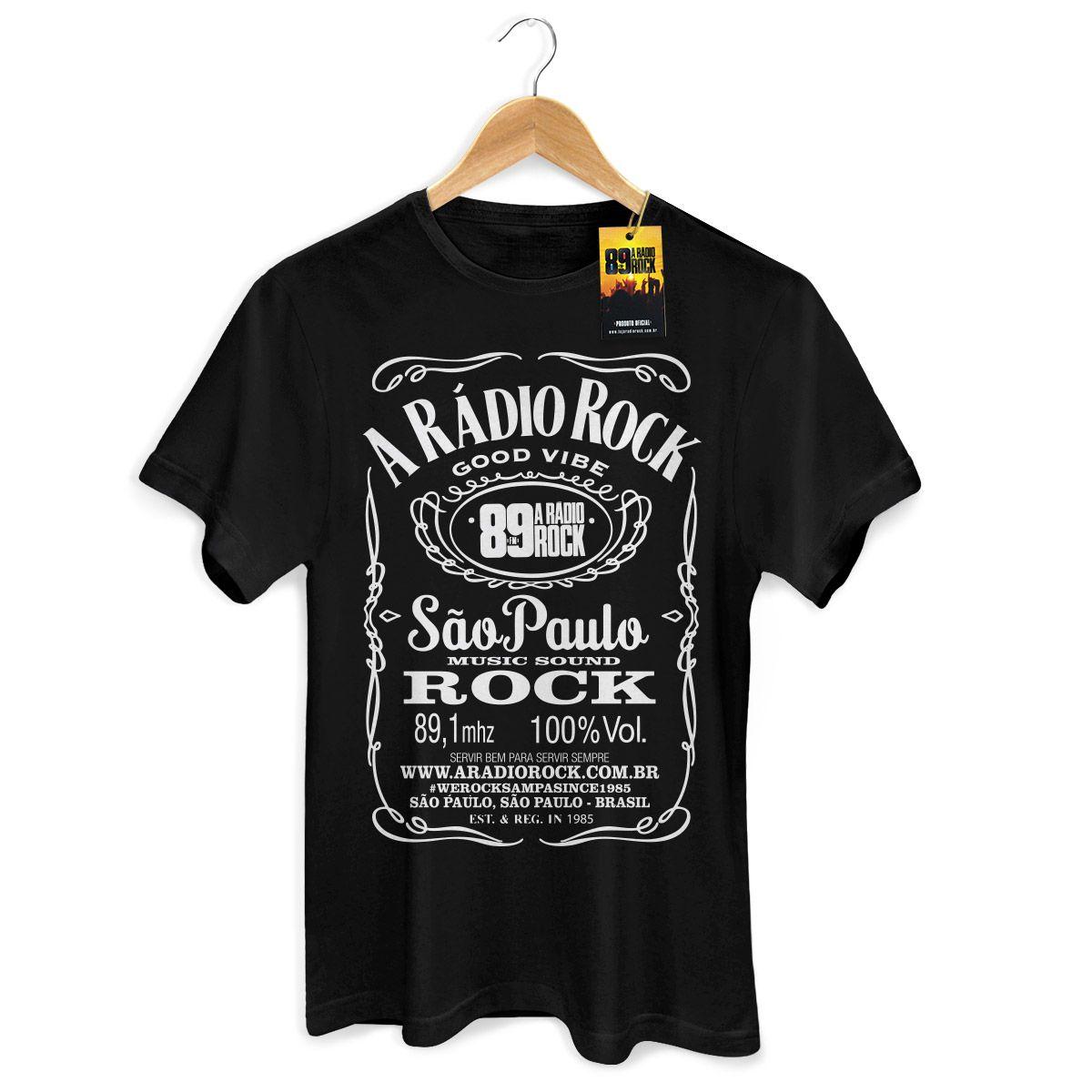 Camiseta Masculina 89 FM - A Rádio Rock  - bandUP Store Marketplace